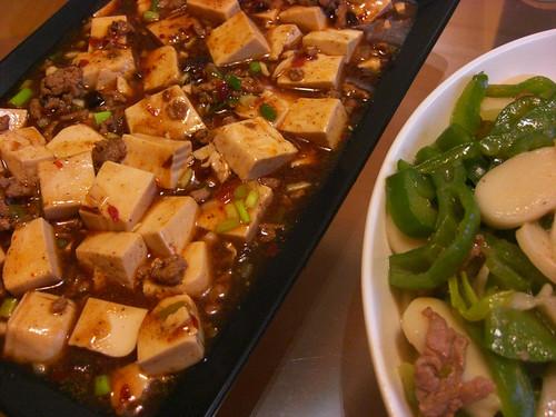 麻婆豆腐和寧波年糕