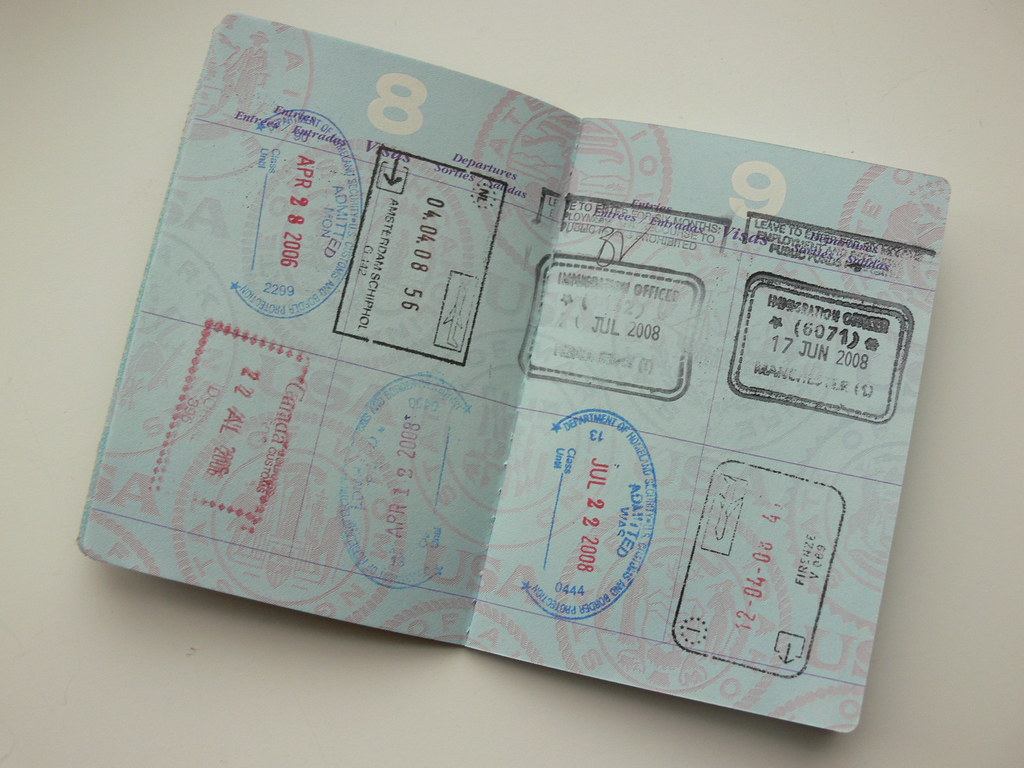 american passport last page - photo #39