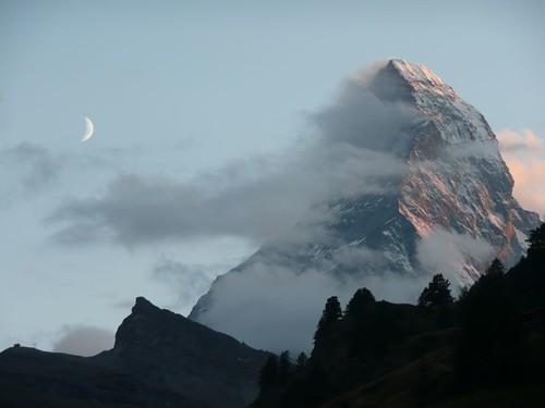 Matterhorn moonrise