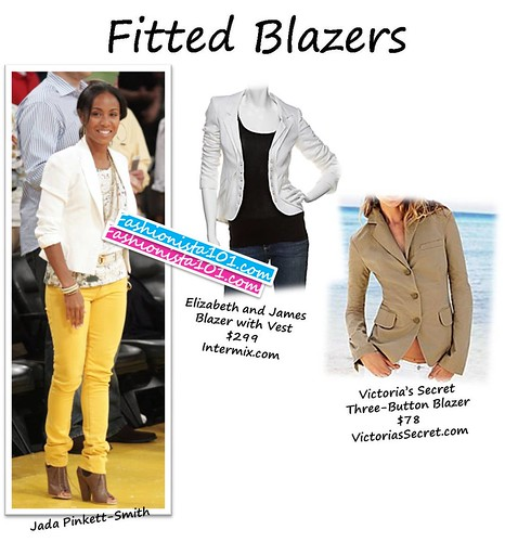 fitted blazers by you.