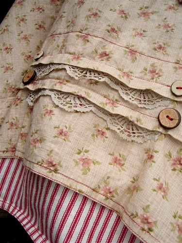 rustic farm apron