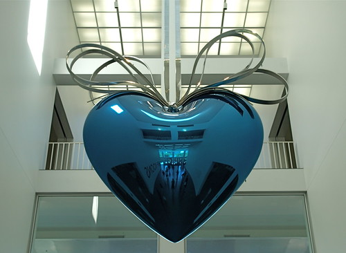Hanging Heart by contemporary artist Jeff Koons