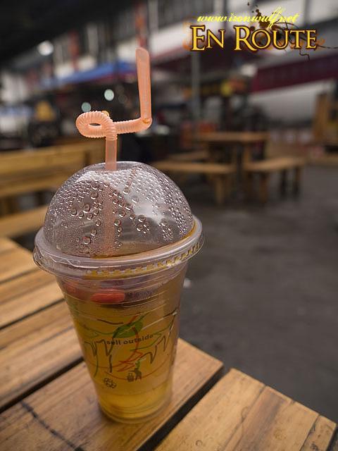 Plum Tea Drink