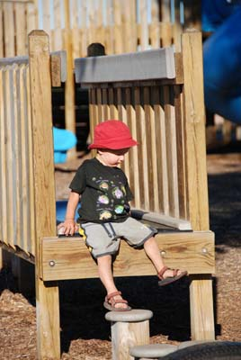 owen at playground
