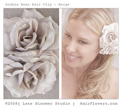 Bridal_Rose_Hair_Clip_1 (hairflowers.com) Tags: wedding vacation orchid flower beach rose hair honeymoon silk clip tropical bridal gardenia flowerhairclip flowerforhair bridalflowerhairclip weddingflowerhair gardeniaflowerforhair
