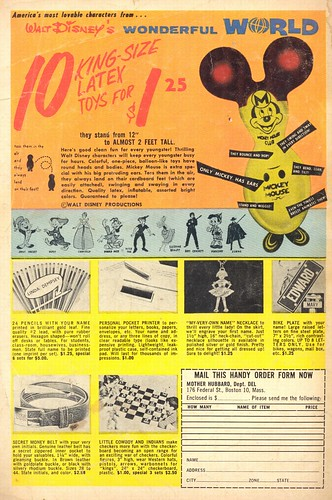 King Size Latex Mickey Mouse - 1964 (by senses working overtime)