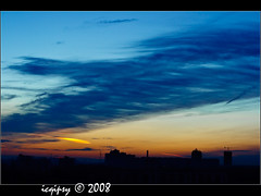 228/366 05:42 (icqipsy) Tags: city roof summer sky cloud sunrise canon landscape 50mm freedom russia moscow lightroom           400d icqipsy