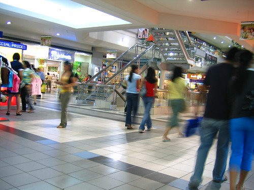 Inside SM City North Edsa