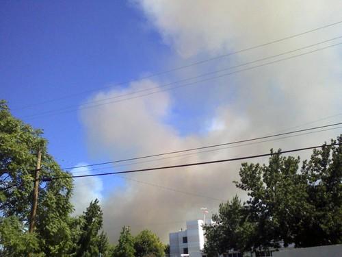 Redding, CA Vegetation Fire 8-26-08