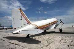 Atlantic Air Cargo C-47 at Nassau, 20AUG08 (flyingaxel) Tags: bahamas nassau douglas dc3 c47