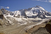 tiefmattengletscher (Ron Layters) Tags: mountain alps geotagged switzerland slide glacier valley transparency zermatt fujichrome wallis rubble valais sensia pentaxmz10 morraine mountainsalps elevation40004500m elevation35004000m flickrfly dentdherens mattertal altitude3715m ronlayters slidefilmthenscanned 4171m summitdentdhérens altitude4171m tiefmattengletscher tetedulion testadelleone 3715m summittetedulion geo:lat=4598890952736848 geo:lon=7622786453582805