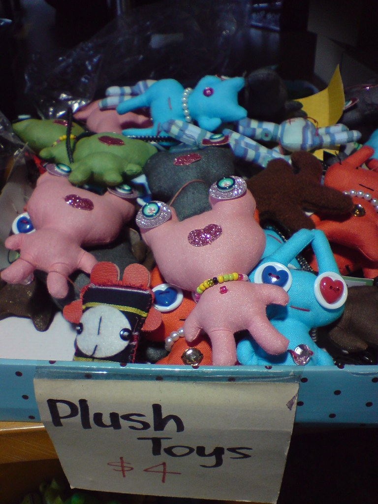 Plush Toys - Clear It