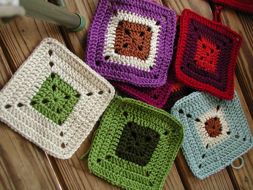 Another Row of Squares