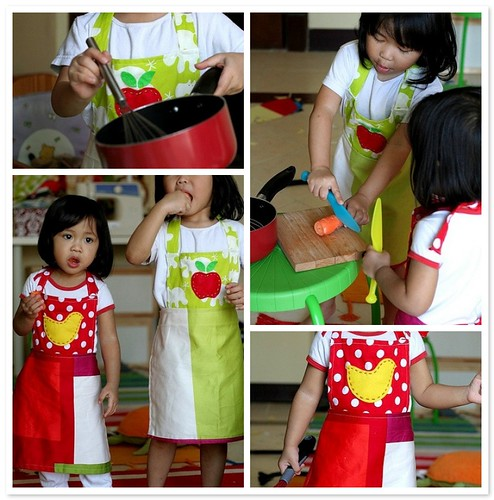 [Mommy Creates] Mini Apron