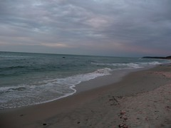 the other side (.ju.) Tags: sunset sea summer sun beach evening holidays meer sundown august balticsea rgen ostsee