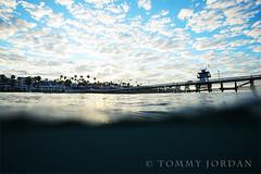 Good Morning (Tommy Jordan) Tags: ocean morning clouds sunrise pier sanclemente sanclementepier iloveclouds babysoftclouds cuddlyclouds