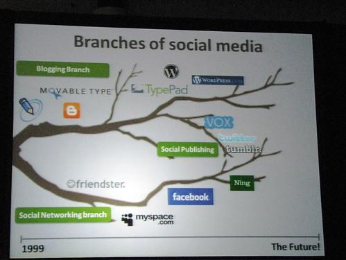 Branches of Social Media