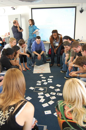 Social Media game at UKYouthOnline