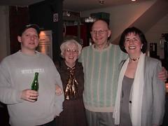 Pictured: Patrick Malkin Alan Malkin Gobnait McAnoy Debbie Malkin