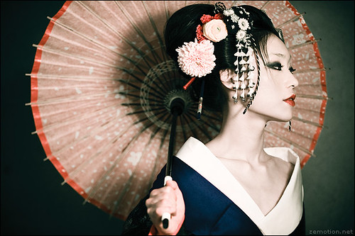Sakuran. II / Jingna Zhang