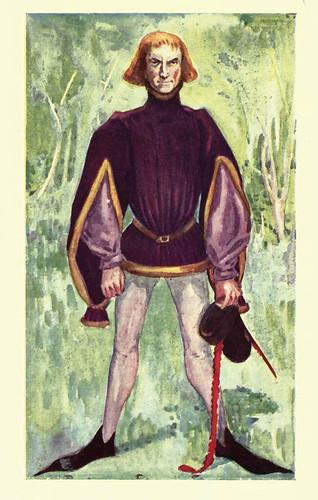 08- Vestimenta hombre epoca Edurardo IV (1461-1483)