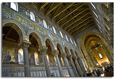 Breathtaking! ( LightMirror) Tags: italy church italia raw sicily palermo sicilia lightmirror duomodimonreale nikond700