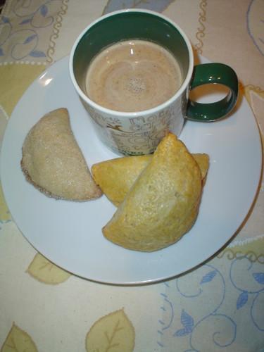 Empanadas Cajeta y Calabaza