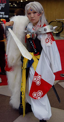 sesshou! (rudhaen) Tags: anime cosplay inuyasha sesshoumaru newyorkanimefestival nyaf nyaf08