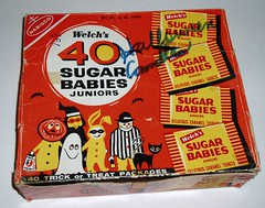 Sugar Babies Halloween Candy Box