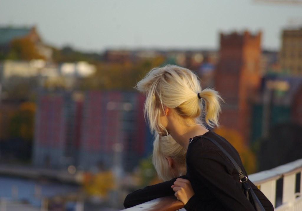 Chicas rubias suecas, foto Guillaume Alcan