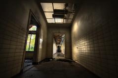 No way out ((Erik)) Tags: urbandecay urbanexploration asylum hdr bloemendaal urbex nowayout 5xp provinciaalziekenhuissantpoort