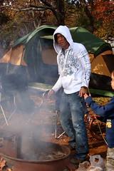 Building a Camp fire (chanchan222) Tags: park trip family camping virginia big daniel meadows ethan national valley chan van shenandoah luray danchan danielchan chanchan222 wwwchanofamericacom chanwaibun