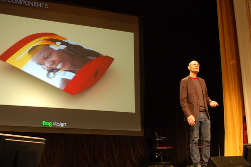 Robert of Frog Design at PopTech 2008