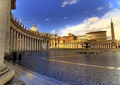 Plaza de San Pedro, Roma.