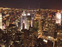 "428: Night time New York Skyline from the Empire State Building (archers30 - ""thanks for all the fish"") Tags: usa ny newyork skyline night america lights us empirestatebuilding manhatten platinumheartaward mygearandmepremium mygearandmebronze mygearandmesilver dblringexcellence aboveandbeyondlevel1 4timesasnice 6timesasnice 5timesasnice aboveandbeyondlevel2"