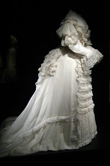 Victorian Ghost (Maulleigh) Tags: new york art fashion museum dress victorian dresses met metropolitan metropolitanmuseum muslin