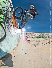 wall tap (denniskatinas) Tags: bmx pro katinas pocketwizard stuartgibson denniskatinas skateparkzutphen