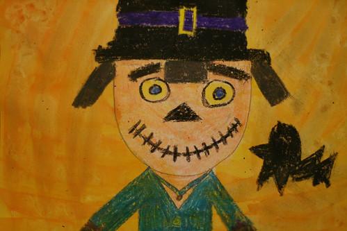 Devon's scarecrow