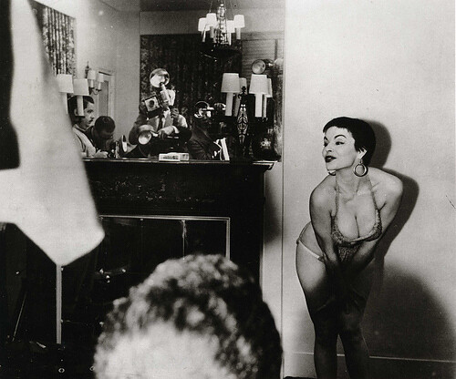 Weegee-Strippers01-1940 by disappartenenza.