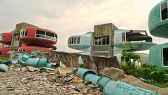 sanzhi UFO houses (HDR) 6 (_gem_) Tags: houses house holiday roc lumix town asia taiwan ufo panasonic ghosttown taipei hdr smalltown pods taipeicounty lx3 ufohouses lumixlx3 panasoniclumixlx3 podhouses