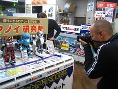 Dan shoots robots