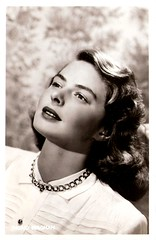 Ingrid Bergman (Truus, Bob & Jan too!) Tags: cinema film ingrid vintage glamour european postcard swedish hollywood actress bergman intermezzo notorious filmstar spellbound ingridbergman