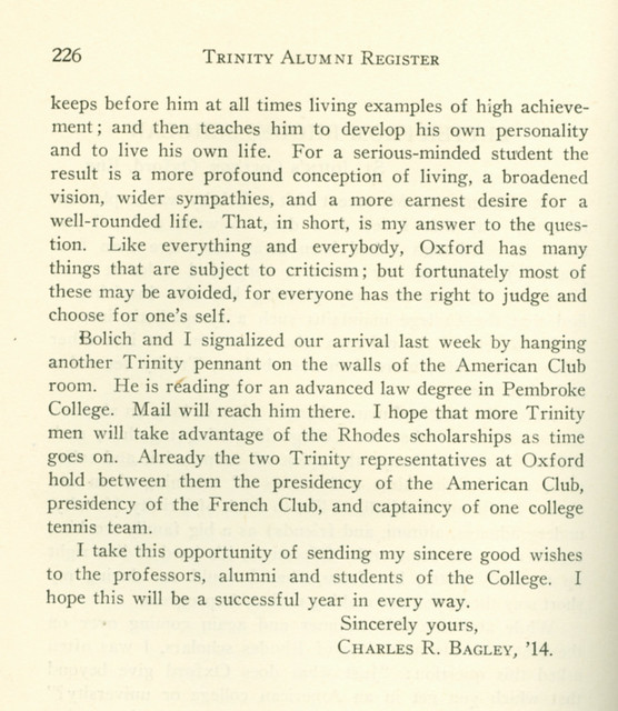 Letter from RHODES SCHOLAR page 2 | Flickr - Photo Sharing!