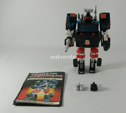Transformers Trailbreaker G1 - modo