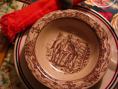 Wallace Western Traveller (prima seadiva) Tags: autumn vintage cowboy dish tan diner western wallace dishes tablesetting restaurantware tanbody restaurantchina