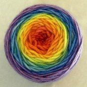 4 oz Gradient Dyed Cashmere Yarn