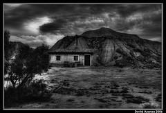 KM 5D (.FotoMiradas.) Tags: bw landscape desert minolta paisaje bn desierto km navarra bardenas 2875 bardenasreales fotomiradas davidazanza