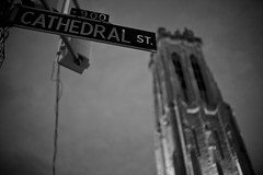 Cathedral (patrickjoust) Tags: street city urban bw usa white black blancoynegro church night america 35mm canon lens eos prime us focus flickr cathedral united patrick maryland baltimore mount adapter 5d f2 states manual nikkor joust 35 vernon ai biancoenero blancinegre estados blancetnoir unidos schwarzundweiss 35mmf2ai lovelycity thedefiningtouch patrickjoust deftouch