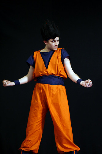 Dragon Ball Son Gokû Cosplay