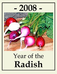 year of the radish; 2008